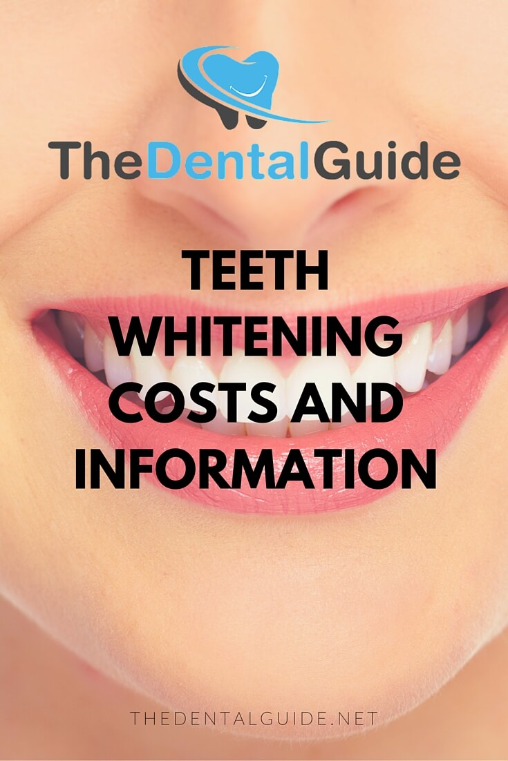 How Much Does Teeth Whitening Cost At The Dentist